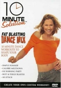 fitness DVD 10 Minute Solution - Fat Blasting Dance Mix