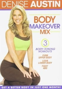 fitness DVD Denise Austin Body Makeover Mix