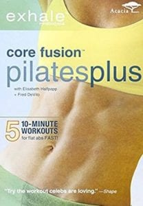 fitness DVD Exhale: Core Fusion Pilates Plus