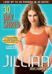 fitness dvd Jillian Michaels 30 Day Shred