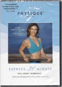 fitness DVD Physique 57 New York Express 30 Minute Full Body Workout