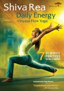 fitness DVD Shiva Rea - Daily Energy Vinyasa Flow Yoga