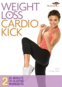 fitness DVD Weight Loss Cardio Kick