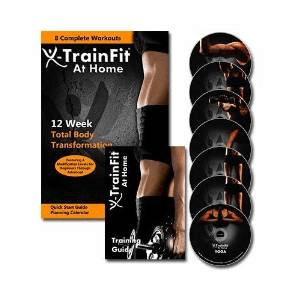 fitness DVD X-TrainFit At Home Workout - Women's Complete Fitness - 8 DVDs