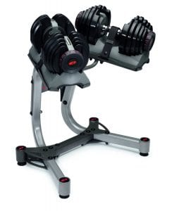 Bowflex SelectTech 552 Adjustable Dumbbells with stand