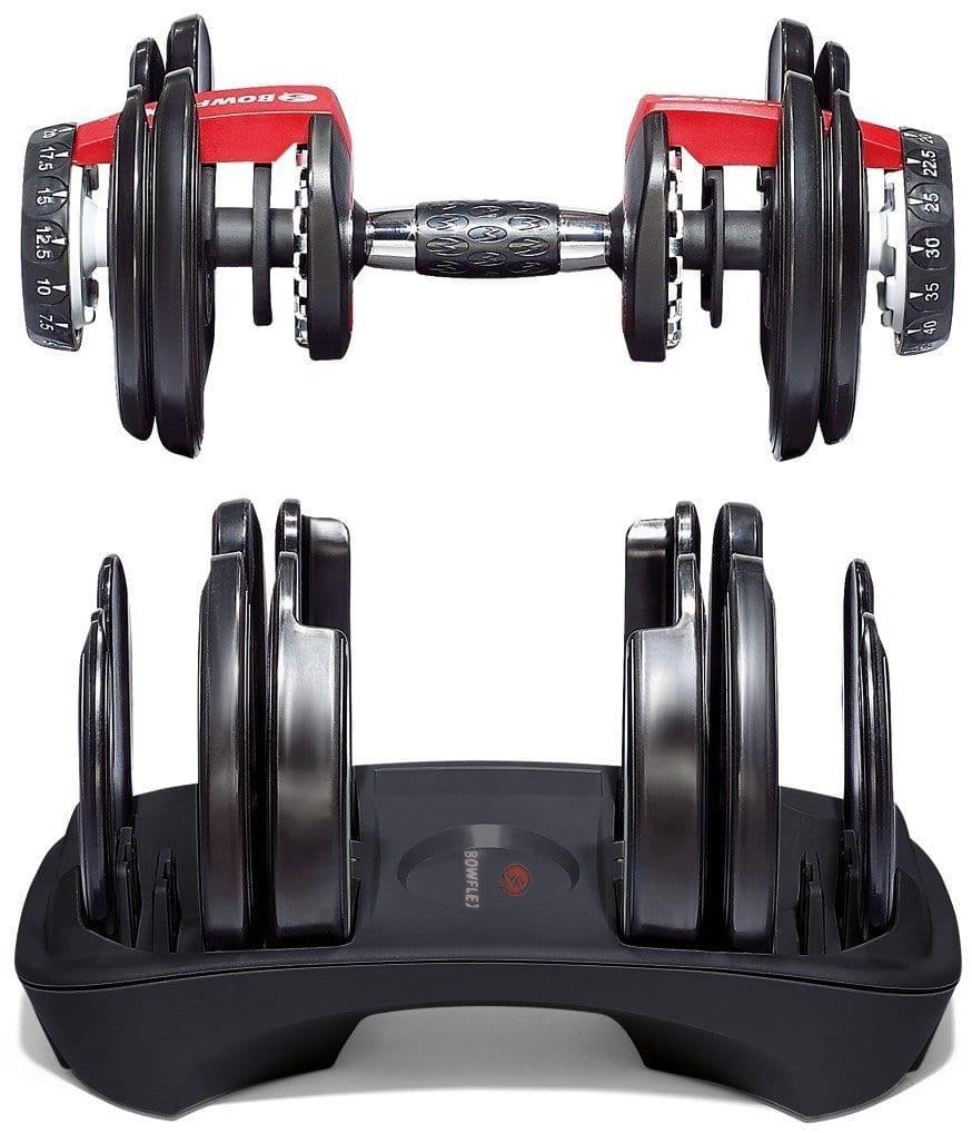Bowflex Adjustable Dumbbells Instructions: Bowflex SelectTech 552 Adjustable Dumbbells Review