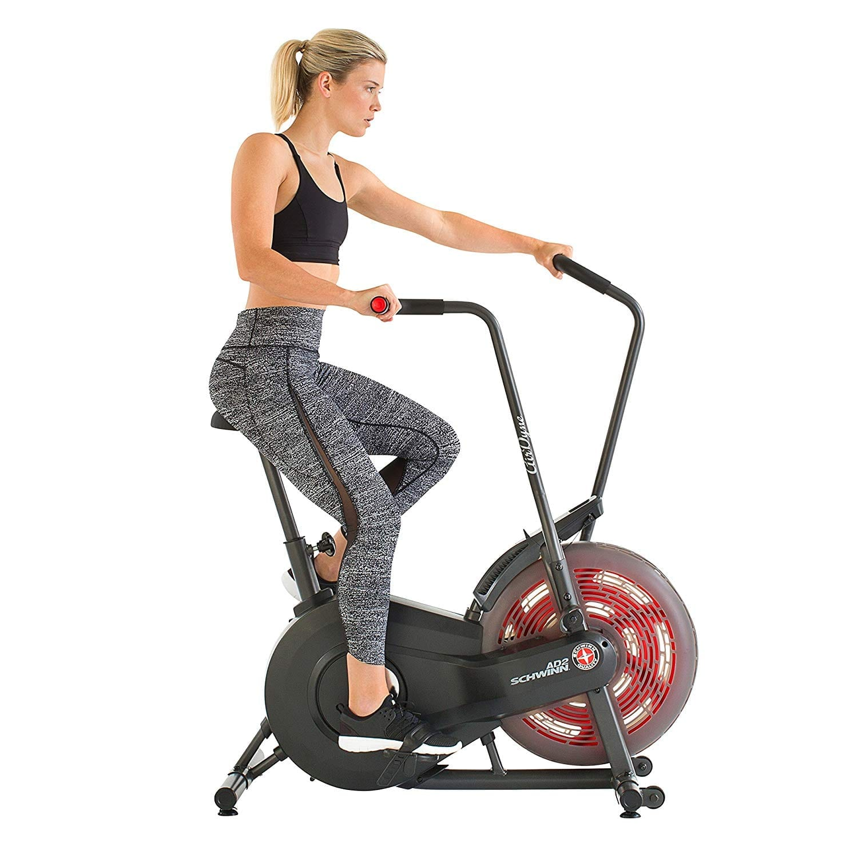 Fitness Equipment Advertisements: Schwinn AD2 Airdyne Exercise Bike Review