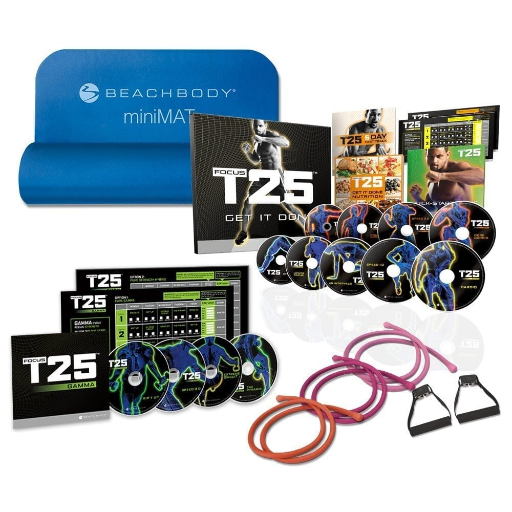 Shaun T's Focus T25 DVD Workout Deluxe Kit Review