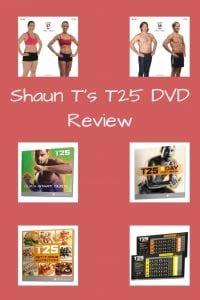 Shaun T's T25 DVD