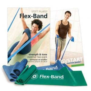 Stott Pilates Flex-Band Two-Pack
