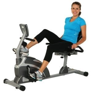 Exerpeutic 900XL Extended Capcity Recumbent Bike with Pulse