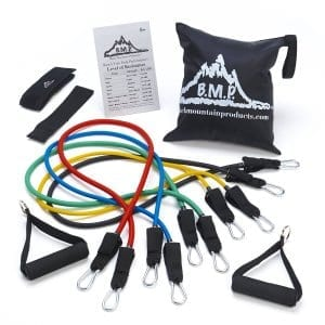 Black Mountain Products Resistance Bands Set