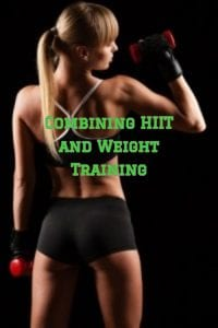 HIIT and weight training