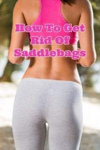 get rid of saddlebags
