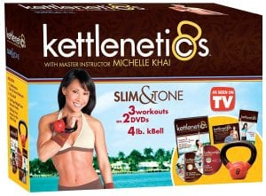 Gaiam Kettlenetics Slim & Tone Kit
