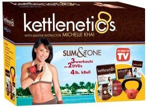 Gaiam Kettlenetics Slim & Tone Kit
