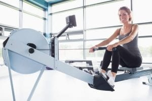 benefits of rowing machine exercise