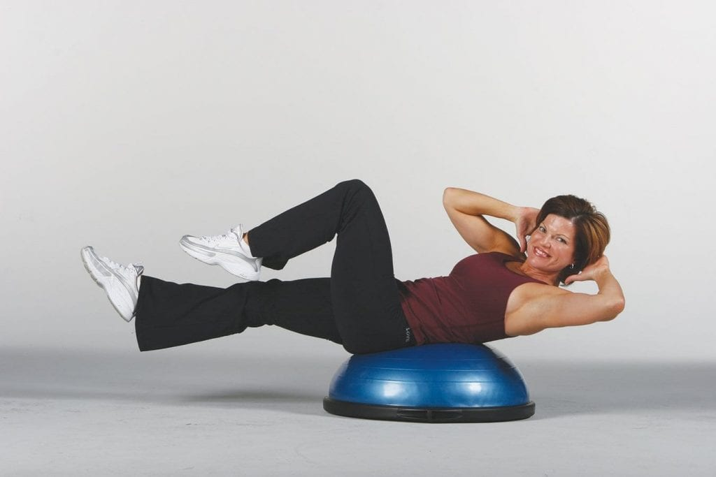 bosu trainer Jll® maze balance trainer - makes balance training more fun and challenging (modeled on the bosu balance trainer), heavy duty suitable for home and gym, air pump and resistance bands included.