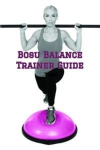 Bosu Balance Trainer Guide