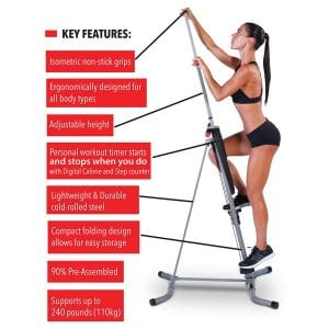 Maxi Climber Vertical Climber Exercise Machine Review