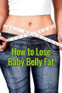 losing belly fat after having a baby