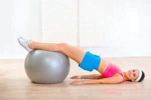 fitness ball exercise