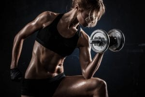 weight training for women at home