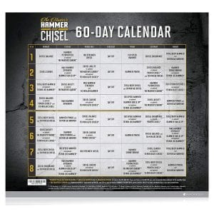 Hammer and Chisel 60-Day Calendar