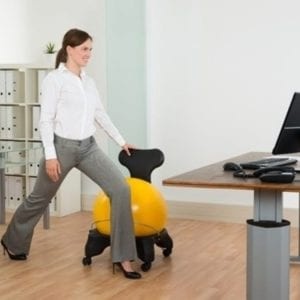 benefits of a yoga ball chair