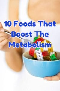 foods that boost the metabolism