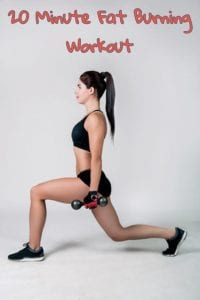20 minute fat burning workout