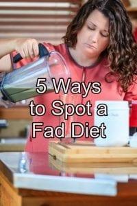 5 ways to spot a fad diet