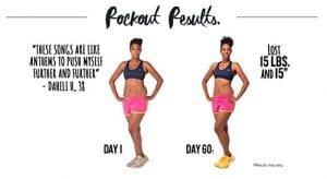 Pound Rockout Workout DVD