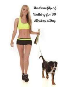 the benefits of walking for 30 minutes a day