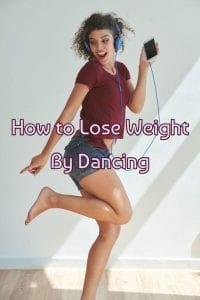 Dancing to lose weight