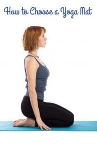 Choose a yoga mat