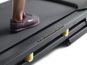Treadmill deck