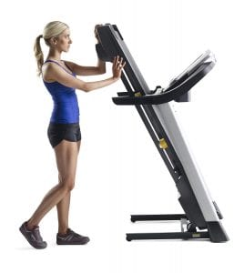 Gold's Gyme Trainer Folding Treadmill
