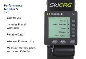 PM5 for SkiErg