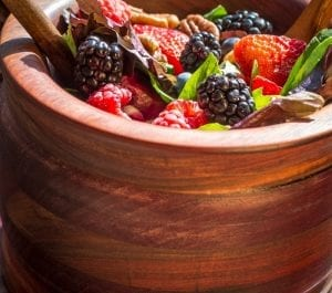 Paleo berries and nuts