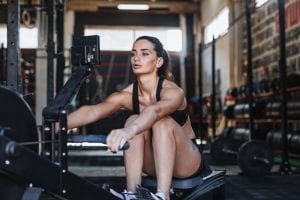 the proper way to use a rowing machine