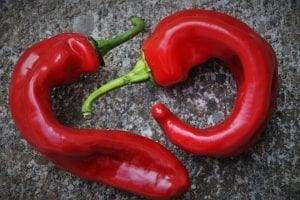 The Satiating Diet - red peppers