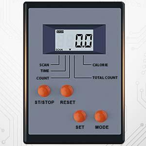 Gym equipment fitness monitor