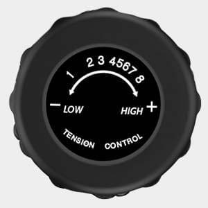 Tension control knob